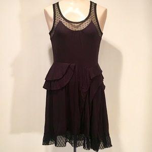 Marc by Marc Jacobs Gothic Black Lace Dress SM